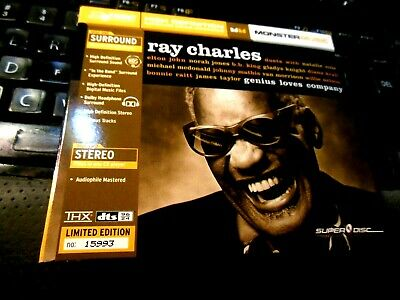 Ray Charles - Genius Loves Company High DEF CD & DVD AUDIOPHILE DTS