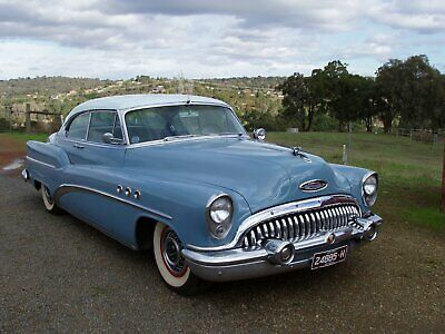 1953 Buick Super Pillarless 2 door coupe (Riviera) 322 V8 nailhead  Dyna flow