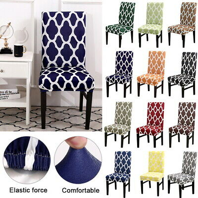 Stretch Removable Kitchen Bar Dining Room Chair Protector Cover Slipcover 76