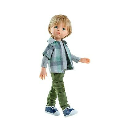 Paola Reina Doll Luis Boy 32cm Vanilla Scented Gift Boxed New 04419