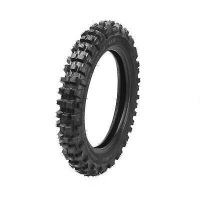 "80/100-12 Knobby Rear Tire & Inner Tube for Off Road Dirt Pit Bike 3.00-12"" SSR"