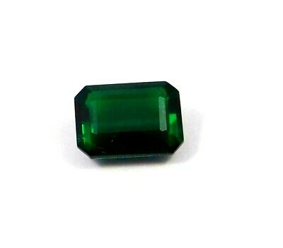 Treated Faceted Green  Apatite Gemstone 10.95 CT 14x10mm  RM16894