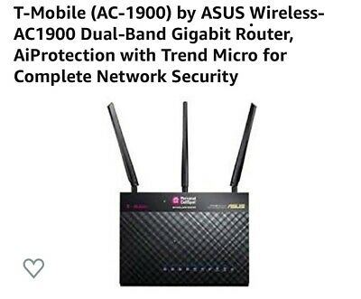 Wireless Router ASUS T-Mobile (AC-1900) Dual-Band Gigabit