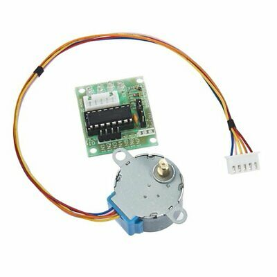 5V Stepper Motor 28BYJ-48 With Drive Test Module Board ULN2003 5 Line 4 Phase Qh