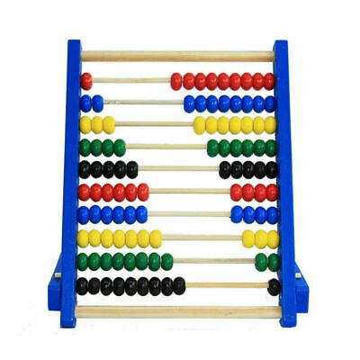 Maths Toy For Kids Gift Wooden Children/'s Counting Educational Bead Abacus Q