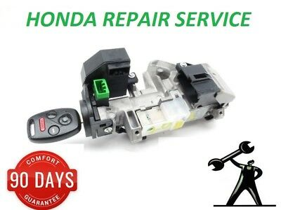 Honda Jazz Civic Crv Accord Ignition Barrel Repair Service