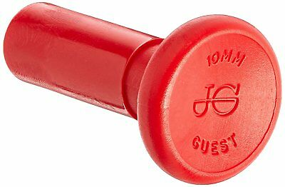 8 x John Guest 10mm plug. JG Speedfit push fit plugs PM0810R