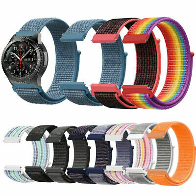 For Samsung Gear S3 Frontier/Classic Strap Replacement Nylon Bracelet Wristband