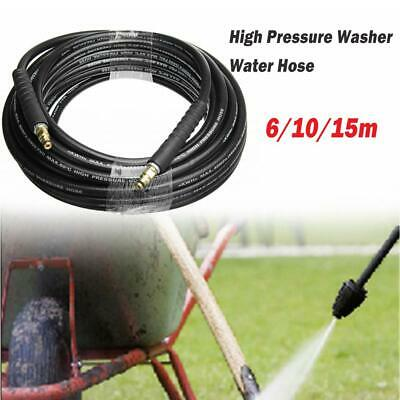 6/10/15m Quick Release Pressure Washer Drain Cleaning Hose for Karcher K2- K7