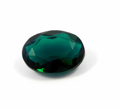 Treated Faceted Green Apatite Gemstone 37 CT 25x18x10mm RM17945