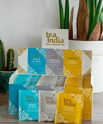 Tea India Ayurveda Selection Pack x 75 teabags in envelopes