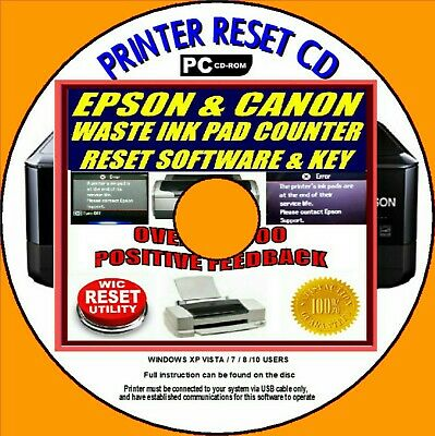 RESET EPSON L805 Reset ink pads counter - $5 50 | PicClick