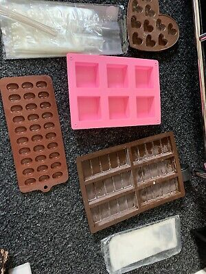 Wax Melt Moulds With Packaging