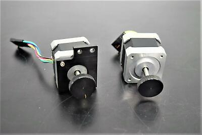 Lot of 2 Oriental Vexta Stepping Motors PK244-04BA-C2 2-Phase 24VDC Warranty