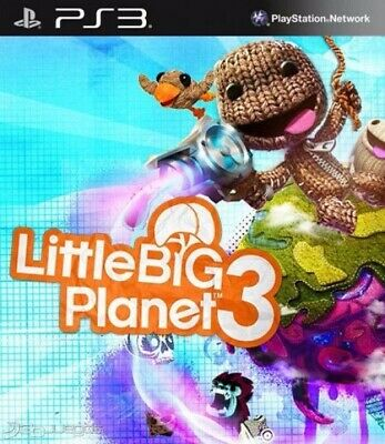 Little Big Planet 3 PS3 - Leer Descripcion - ps3 - DIGITAL