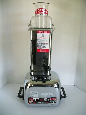Vitamix 3600 Plus Blender Stainless steel vintage great conditionFree Shipping