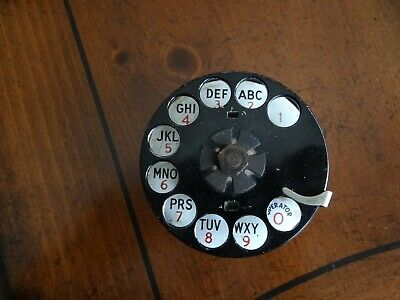 Vintage #6 Western Electric Telephone DIAL Replacement for 202 302 Antique