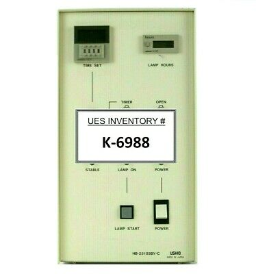 Ushio HB-25103BY-C Lamp Power Supply Control Unit SVG 90S DUV Working Spare