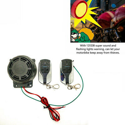 Motorcycle Bike Alarm System Anti-theft Security Remote Engine StartImmobili B$T