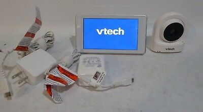 """Vtech VM981 5"""" Touch Screen HD Video Baby Monitor w Expandable Wi-Fi Camera"""