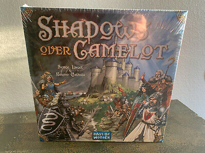Shadows Over Camelot Board Game (Days of Wonder) NEW SEALED (Rare, OOP)