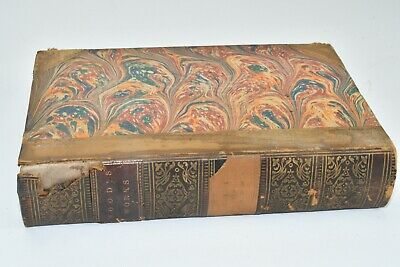 """""""The Poetical Works Of Thomas Hood"""" Collectible Antique Poetry Book From 1860"""