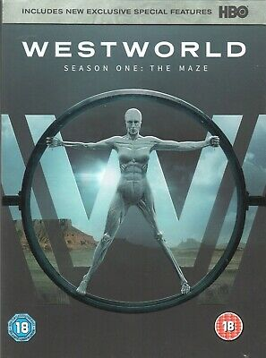 Westworld - Season One: The Maze (3-Disc) DVD Box Set Region 2