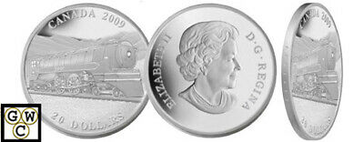 2009 'Jubilee Locomotive' Proof $20 Silver 1oz .9999 Fine Coin (12504) (OOAK)