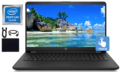 "2019 Newest HP 15.6"" Touchscreen Laptop Quad Core Pentium 8GB RAM 1TB HDD Win 10"