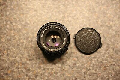 Canon FD 50mm 1:1.8 lens for Canon FD SLR camera