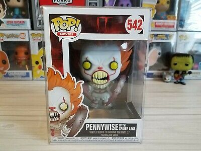 Funko PoP! IT Pennywise with spider Legs #542 New with Pop Protector!