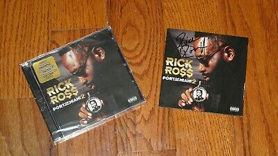 RICK ROSS  Port Of Miami 2 CD (Autographed) NEW