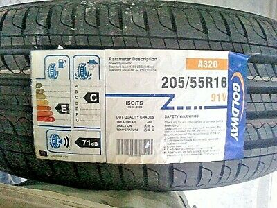 1 New GOLDWAY A 320 205/55R16 91V Performance Tire