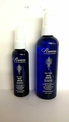 Remirex Oil Free Wig Shine For Synthetic & Human Hair (Choose your size)