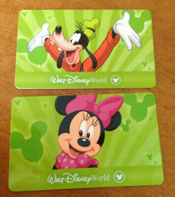 2 Walt Disney World 4 Day Park Hopper Tickets Exp. 2030 use each day whenever
