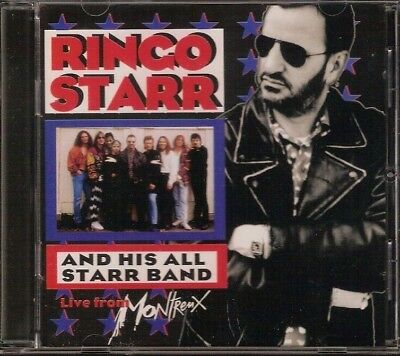 Ringo Starr And His All Starr Band Live From Montreux 1993 Ryko Cd Girls Talk