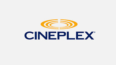2 Cineplex General Admission Digital Codes, Expires Nov 30, 2019