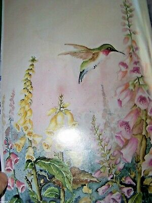 Inspirations Of Watercolors By Doris Crusenberry1998  Flower Tole Paint Book