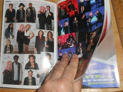 Get Out Mag Joe Putignano,PICS ONLY from Home For The Holidays Cyndi Lauper 2015