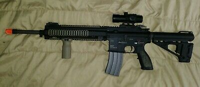AIRSOFT VFC HK 417 Sniper DMR With Everything