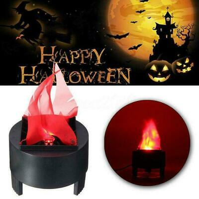 Halloween Prop LED Hanging Fake Flame Lamp Simulation Decor 3D Light Pot Pa C3Y5