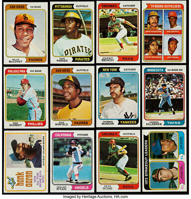 1974 Topps Baseball Card Singles #251-500  (YOU PICK CARDS) $1.50 FREE SHIPPING