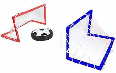 Kids Boy's Hovering Football Soccer Ball Set, Goal Post Hover Ball with 2 Gates