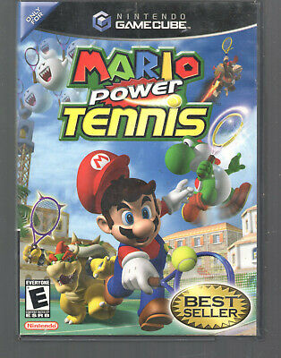 Mario Power Tennis for GameCube Replacement Case and Insert Only game cube