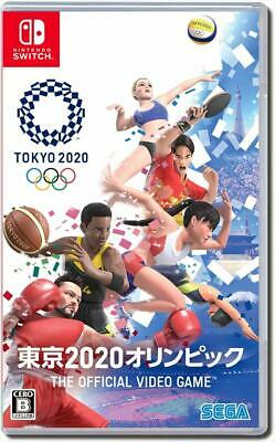Nintendo Switch Tokyo 2020 Olympics The Official Video Game JAPAN