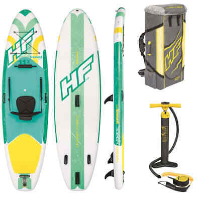 Bestway Ensemble Paddleboard Gonflable Hydro-Force Freesoul Tech 340cm Planche