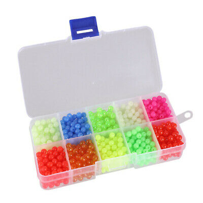 Soft Floating Beads Lures Luminous Accessories Assorted Fishing Tackle