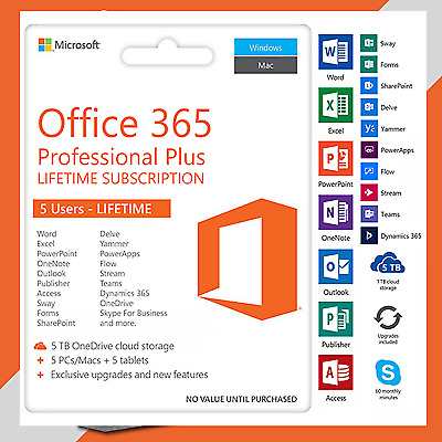 Microsoft Office 365 Full Access (email delivery/ no key wil be sent)