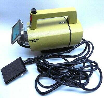 Nice Raychem IR550 MarkII Infrared Heat Gun with Foot Pedal Complete