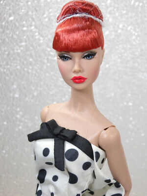 Poppy Parker Looks A Plenty Red Haired Doll Dressed with Accessories Spare Legs